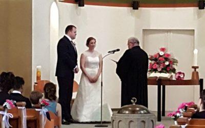 Caroline Telahr und KSO Schwerdtfeger haben geheiratet