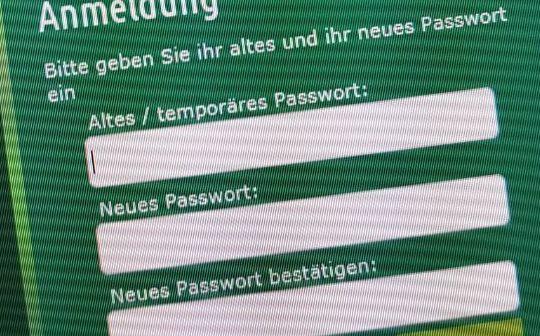 Winterpause – Zeit zum Passwort ändern!