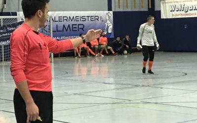 Vorrunde bei Hallenstadtmeisterschaft