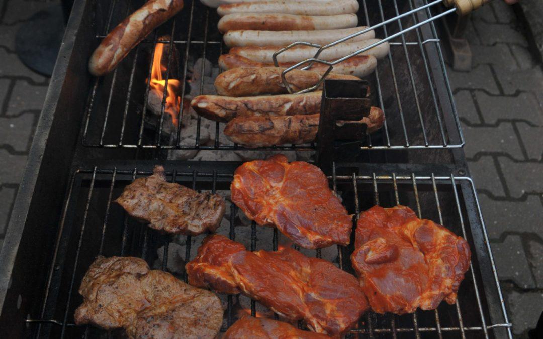 Schiri-Grillfest am Bergmannsbusch