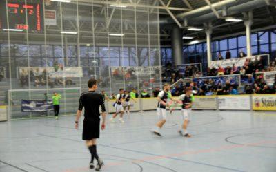 Start der Bundesliga Rückrunde / Finalrunde der Essener Hallenstadtmeisterschaft