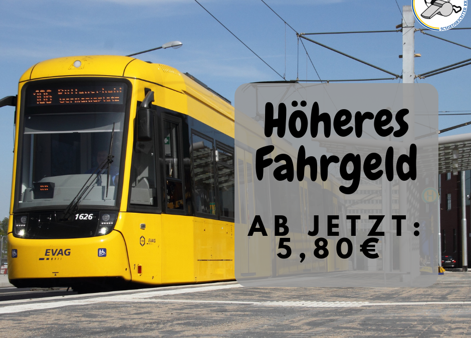 Höheres Fahrgeld