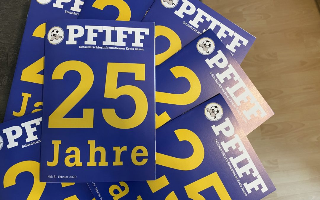 25 Jahre Pfiff! Neues Magazin online