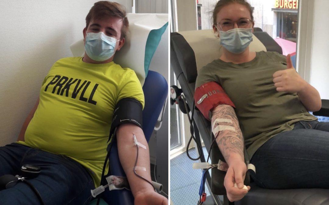 Schiri-Blut für Covid 19